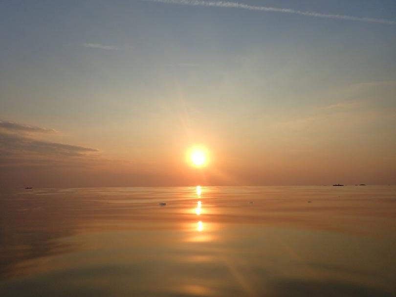 Sunset in Koh Libong