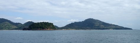 Koh Libong from the west