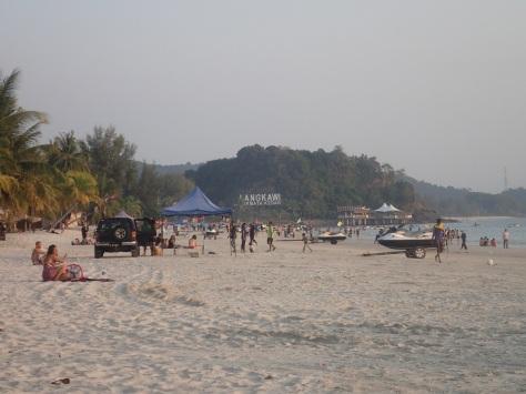 Ugly beach in Langkawi