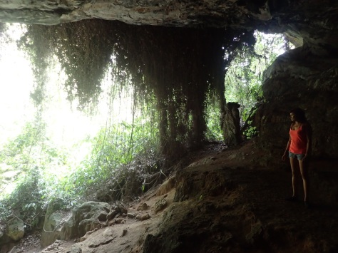 One exit from Gua Tempurung