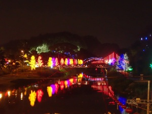 LED trees in Ipoh