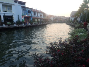 Melaka's meandering river