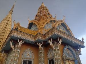Buddhist temple, Phnom Sampeau