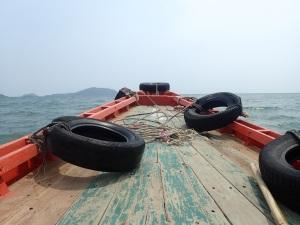 Heading to Rabbit Island, Cambodia