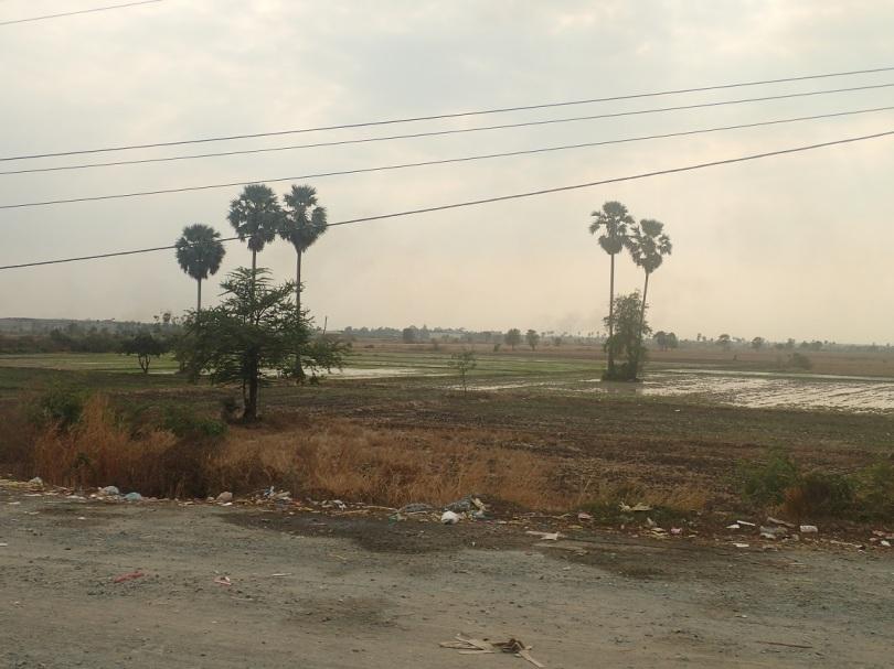 Road to Sihanoukville