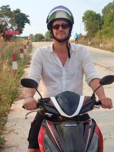 Biking in Sihanoukville