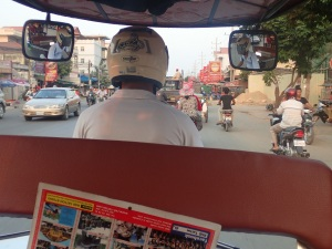 Tuk-tuks are the best way around Phnom Penh