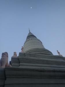 Wat Phnom in Phnom Penh