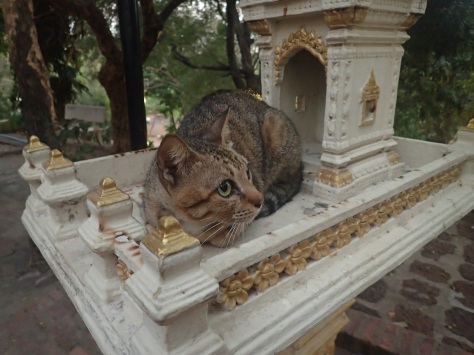Shrine in Phnom Penh