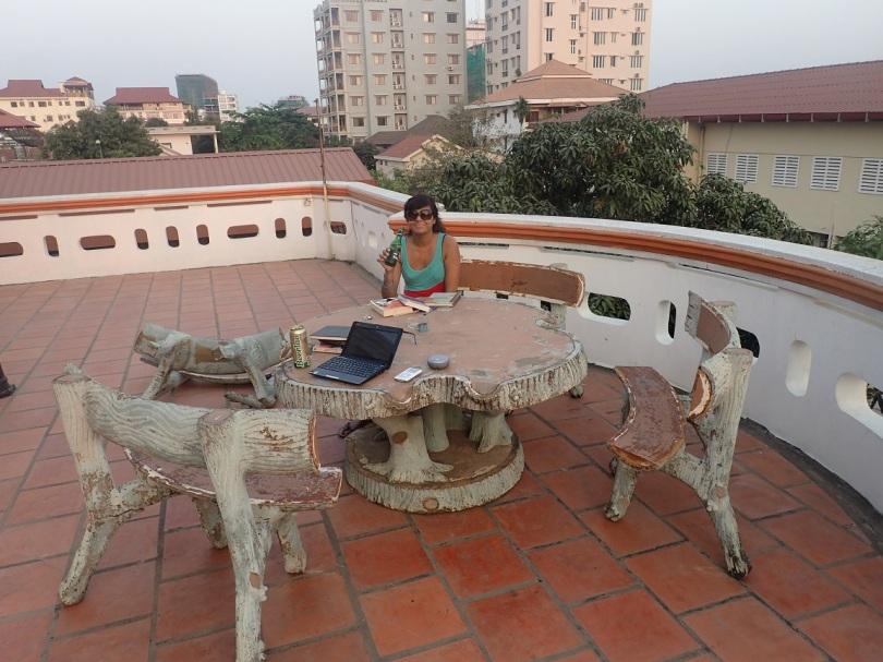 Phnom Penh rooftop