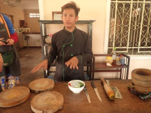 Cooking course, Phnom Penh