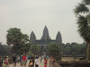Angkor Wat from the approach