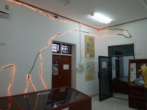 Dinosaur museum in Laos