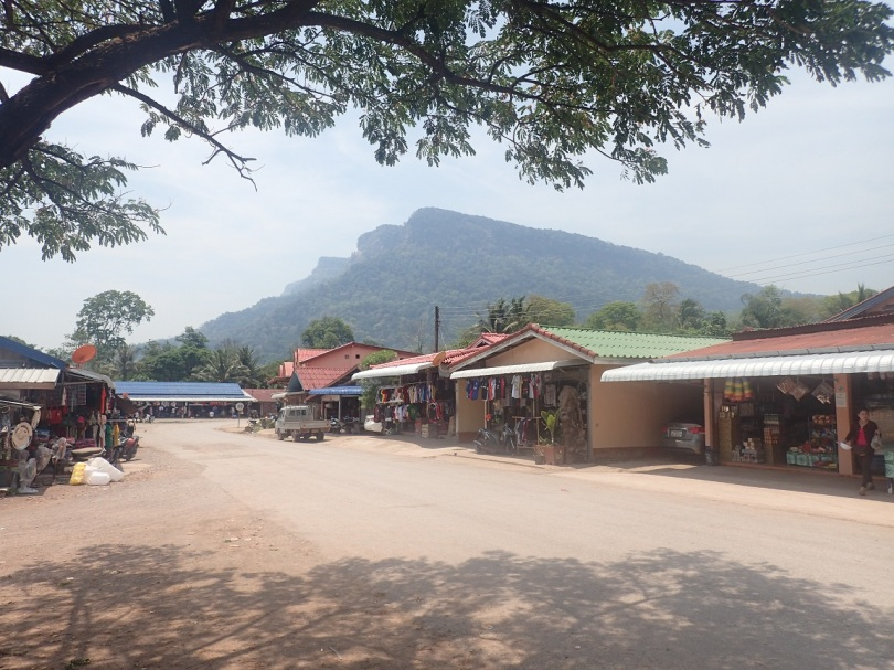 View of the mountains in Ban Nahin