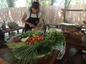 Miss Nouk cooking course