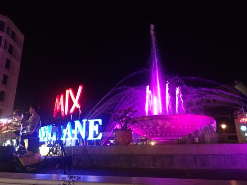 Nam Phu fountain, Vientiane, Laos