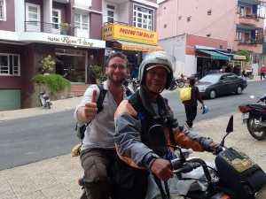 Our guide in Dalat