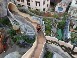 Crazy architecture in Vietnam