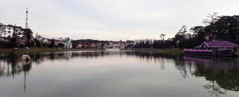 The lake by Dalat, Vietnam