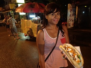 Midnight munchies in Vang Vieng