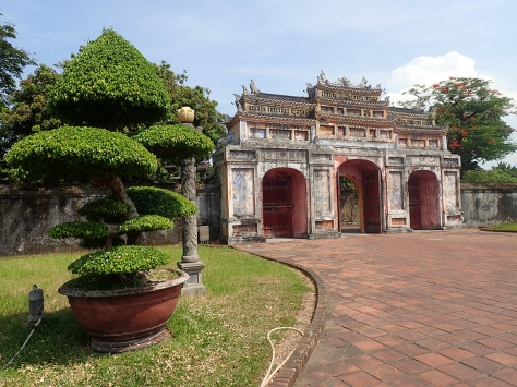 One of the gates to Hue's Imperial Citadel