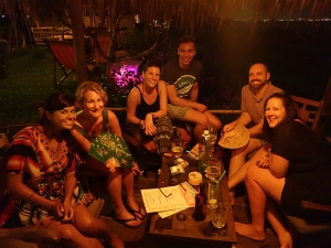 Post-beach cocktails in Hoi An