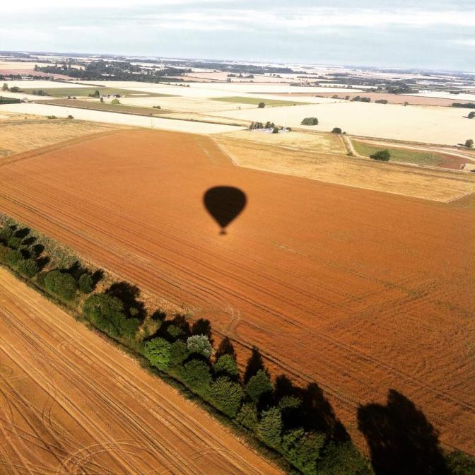 Basket case: a balloon flight in Cambridge