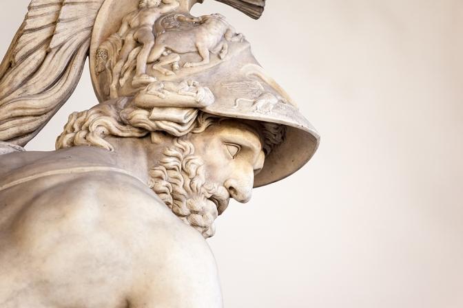 Menelaus statue