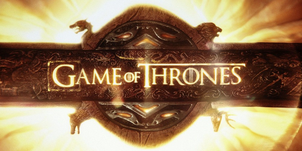 The Game of Thrones Logo at https://rightplacerighttim.com/2016/09/14/a-game-of-thrones-george-r-r-martin-book-review/